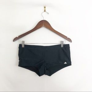 Adidas black swimsuit bottoms size 8